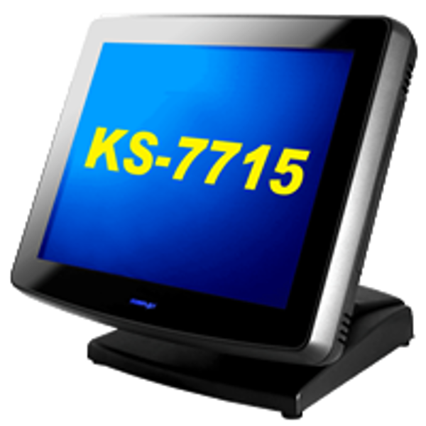 Picture of Pos System POSIFLEX KS-7715 touchscreen point of sale terminal