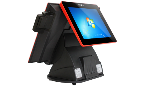 Picture of Pos System Dual cSPOS touchscreen point of sale terminal