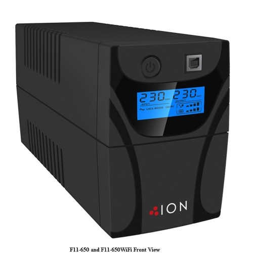 Picture of ION UPS F11 650VA LINE INTERACTIVE
