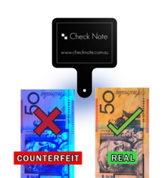 Picture of Fake Notes Cash Drawer MTN Counterfeit Detection
